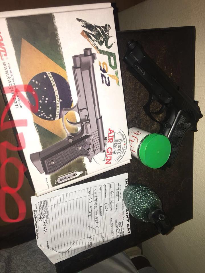 PT 92 Handgun for sale