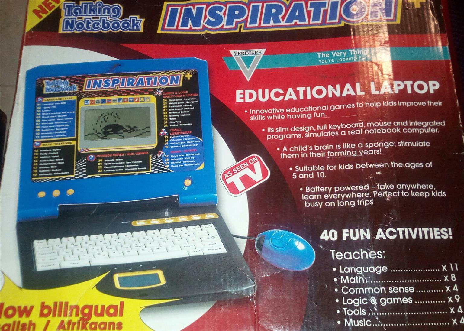 Educational laptop