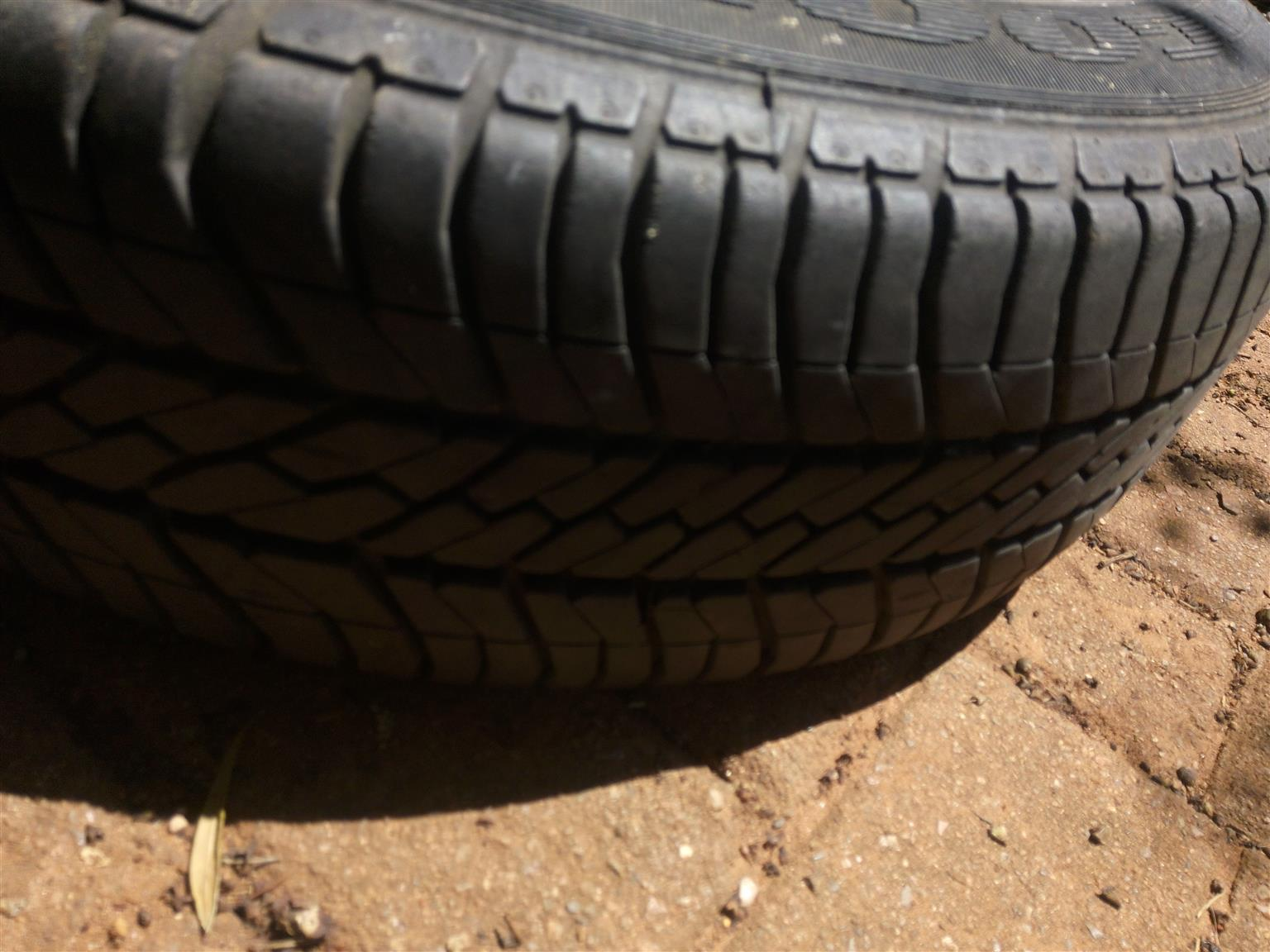 Ford bantam rims and tyres