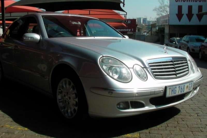 2006 Mercedes Benz E Class