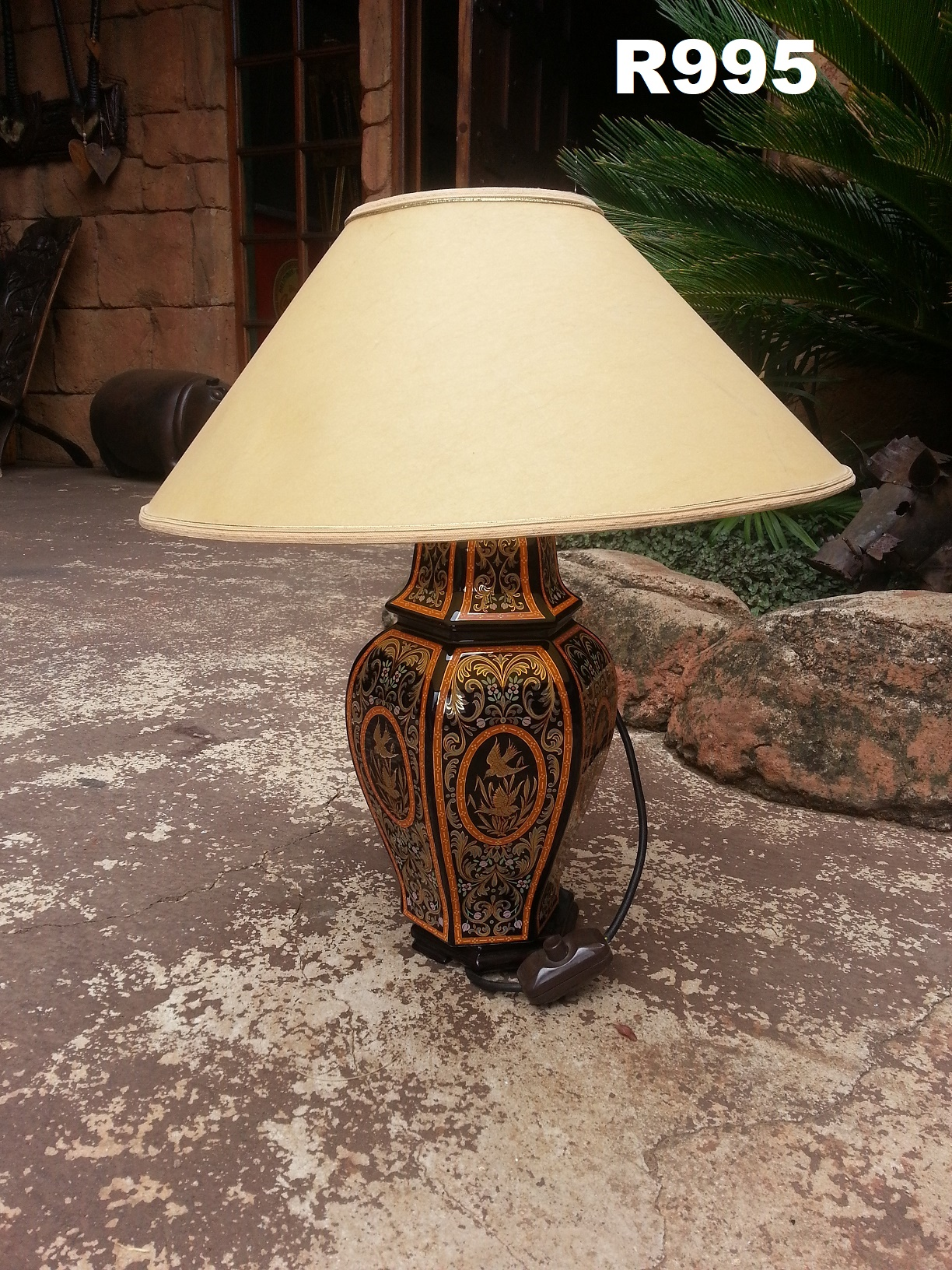 Classy Vintage Lamp (H 530)