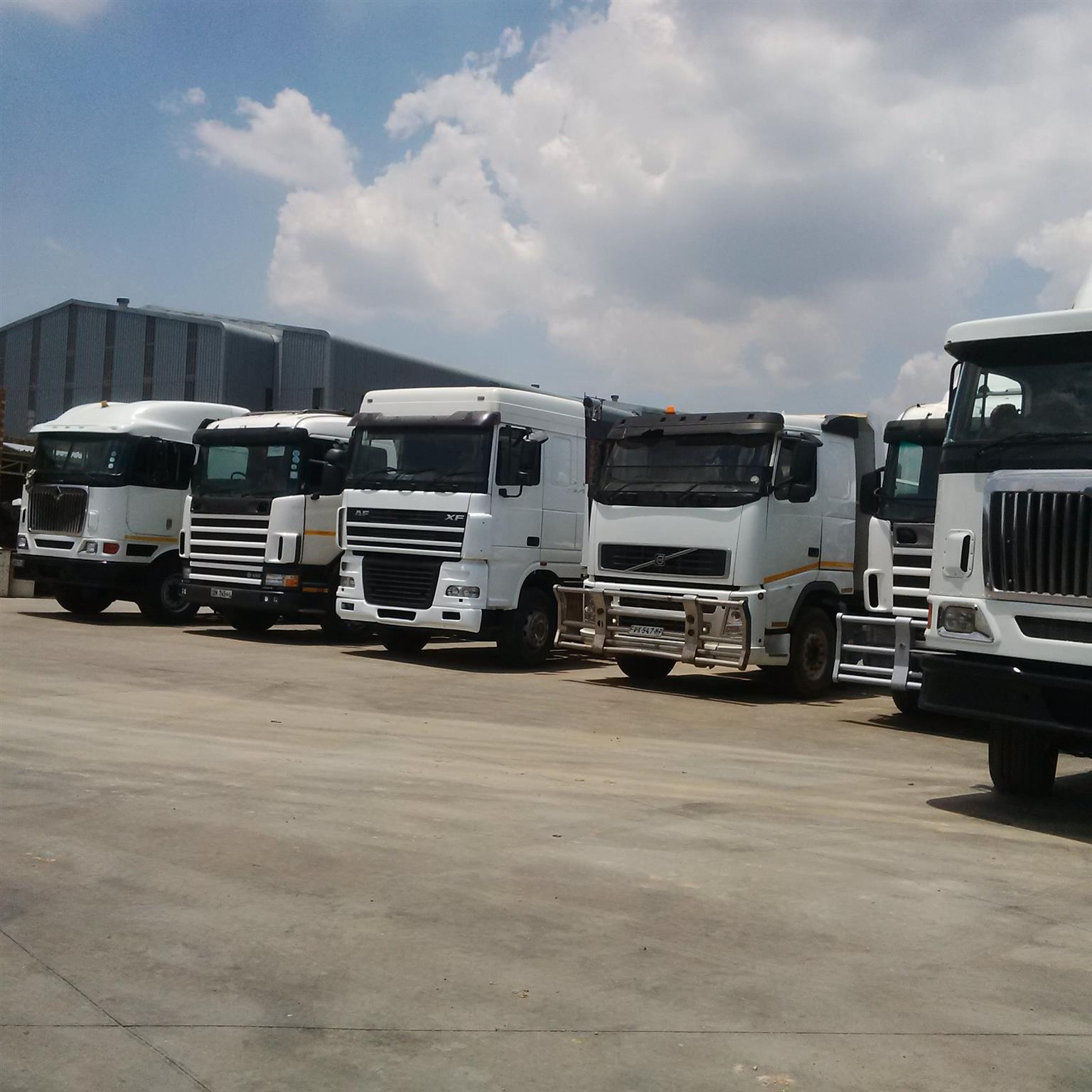 Clearance sale for December @ ZA Auto trucks and trailers