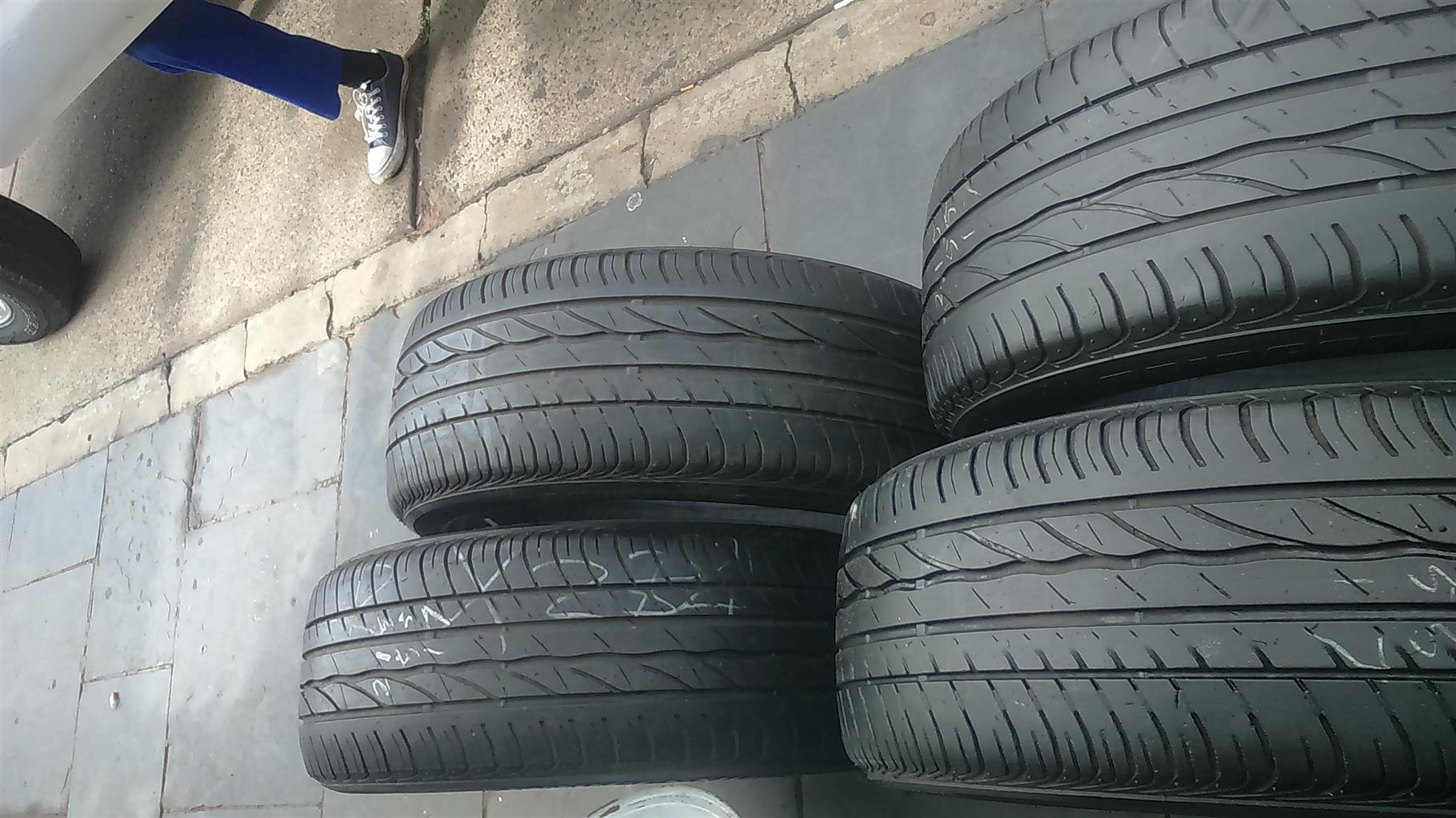 "215/55/17"" X 4 Tyre Bridgestone."