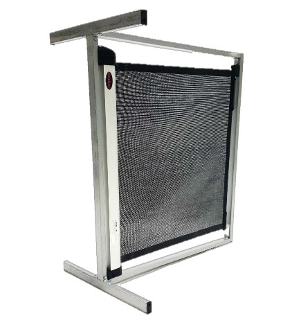 Pet Retractable Gate [Steel & Mesh]