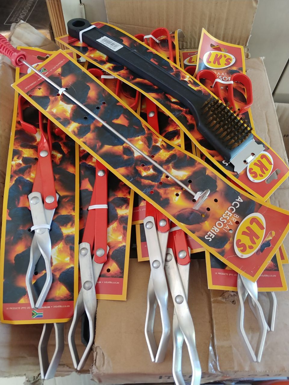 Lots of Braai Items for Sale all offers welcome no reserve price!