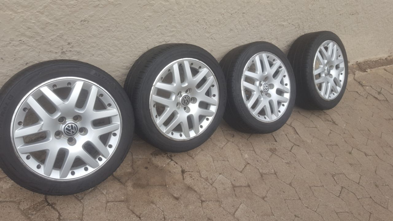 Vw Polo 16 Inch Bbs Mags With Good Used Tyres R4950 Junk
