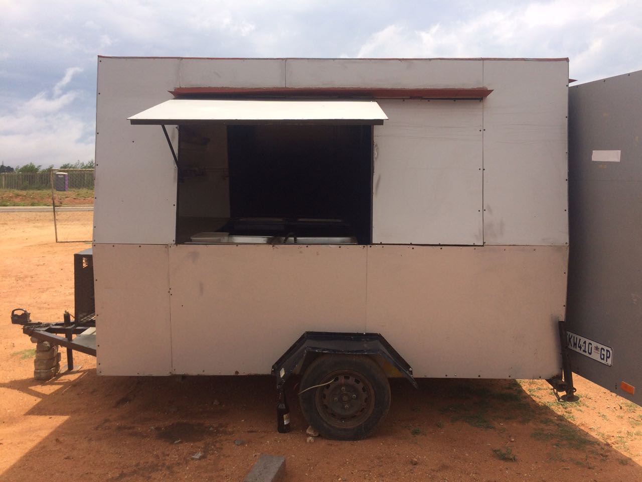 Food Trailer For Sale R15000