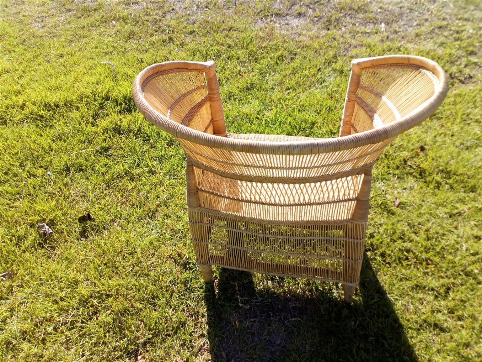 Malawi cane chairs