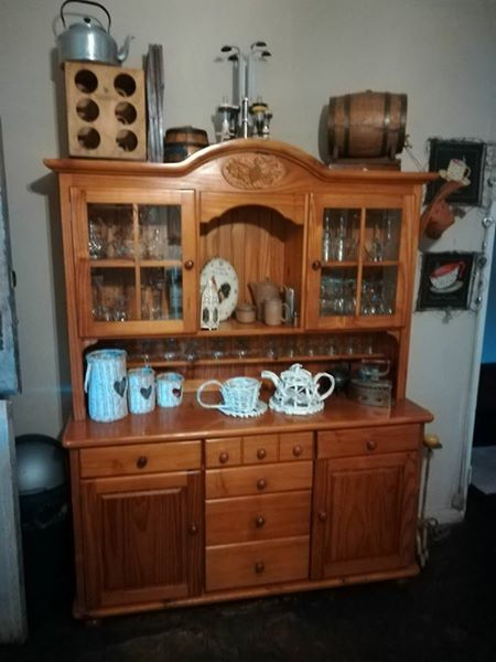 Wooden sideboard for sale
