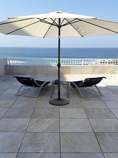 Amazing sea views from the big veranda Ballito