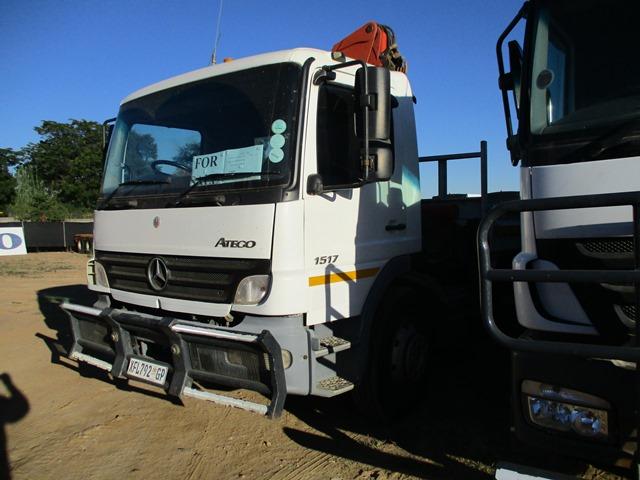 Mercedes - Benz Atego 1517 Dropside Crane Truck