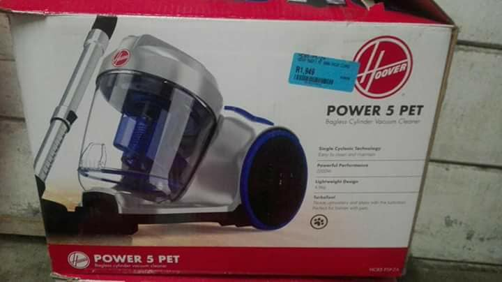 Hoover power 5 pet bagless cylinder vacuum cleaner for sales excellent condition