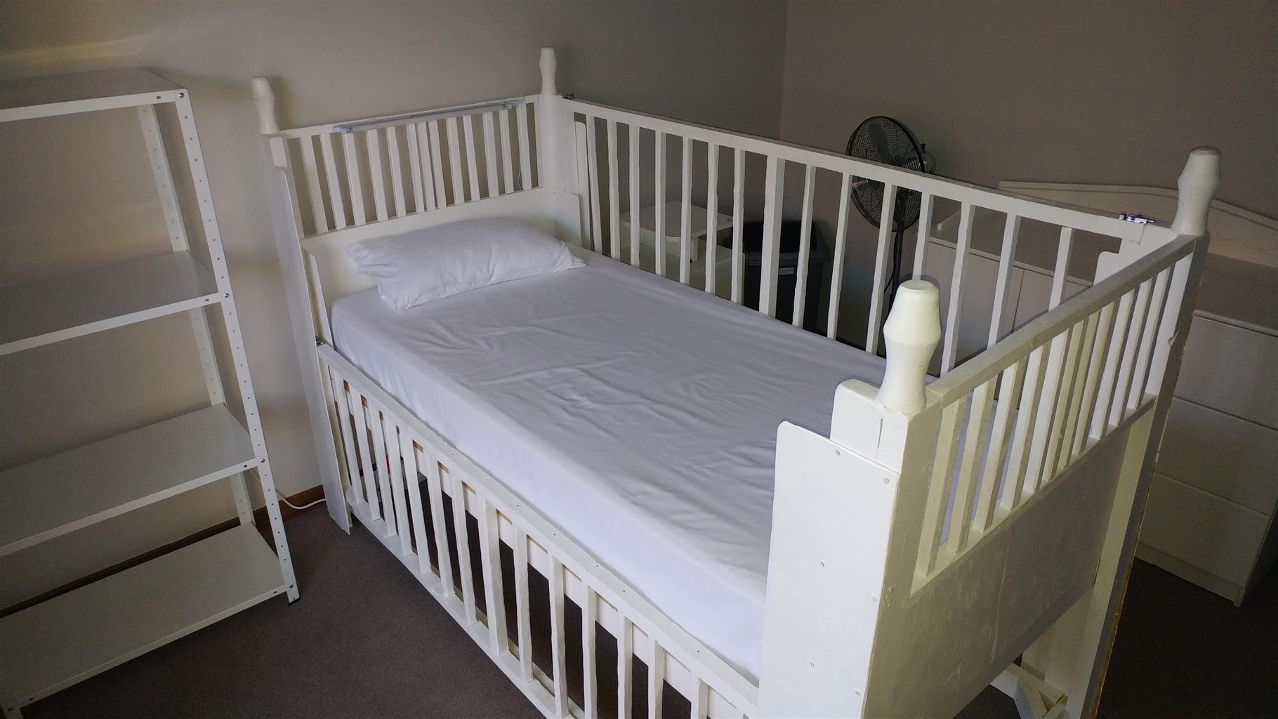 Homemade Adult cot / bed