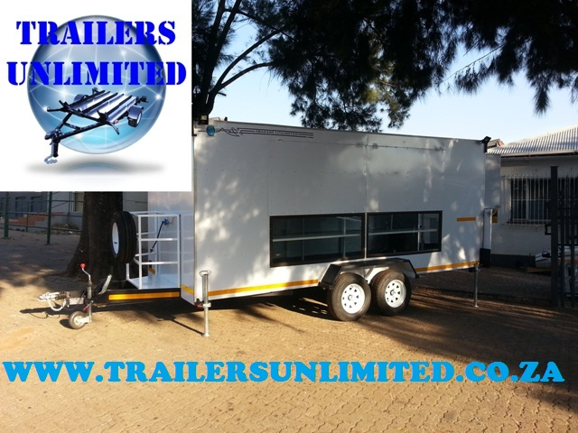 Fast Food Catering Trailer 5000 x 2000 x 2100