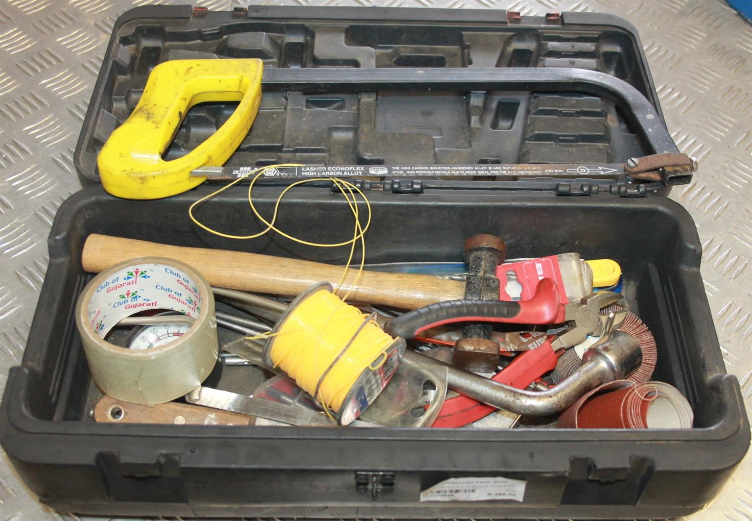 Toolbox with loose tools S027083a  #Rosettenvillepawnshop