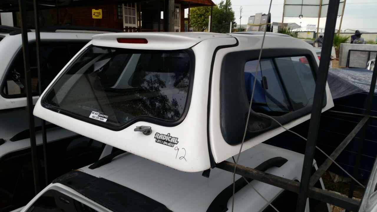Mazda Rustler Canopy