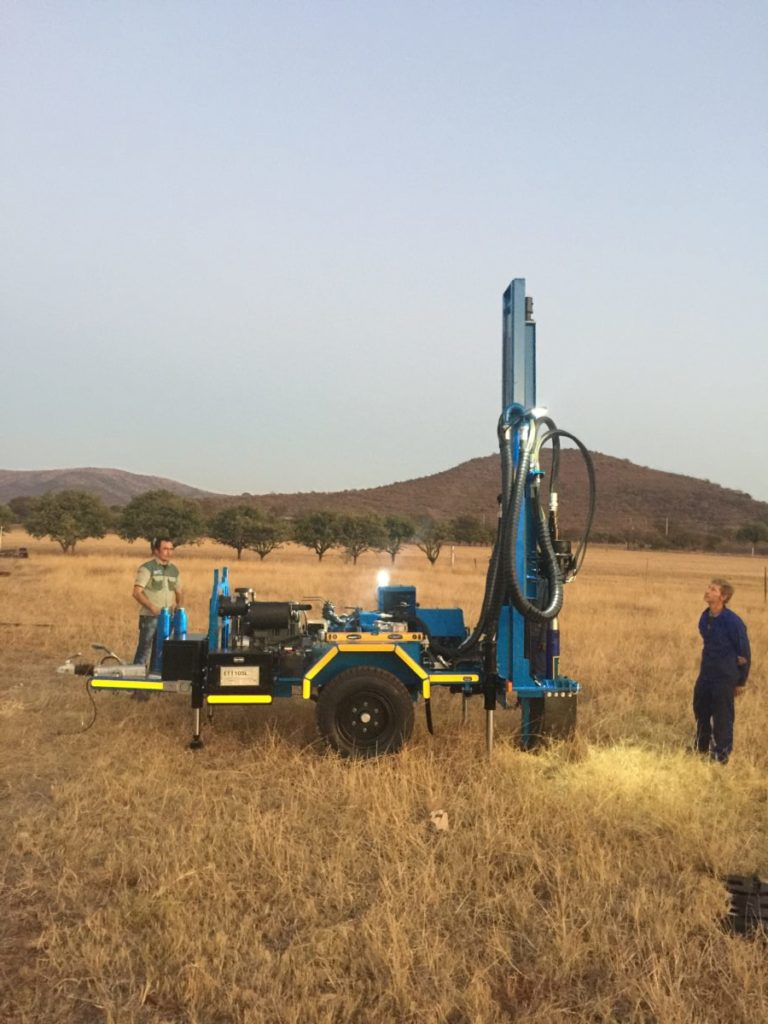We build drilling rigs for Africa