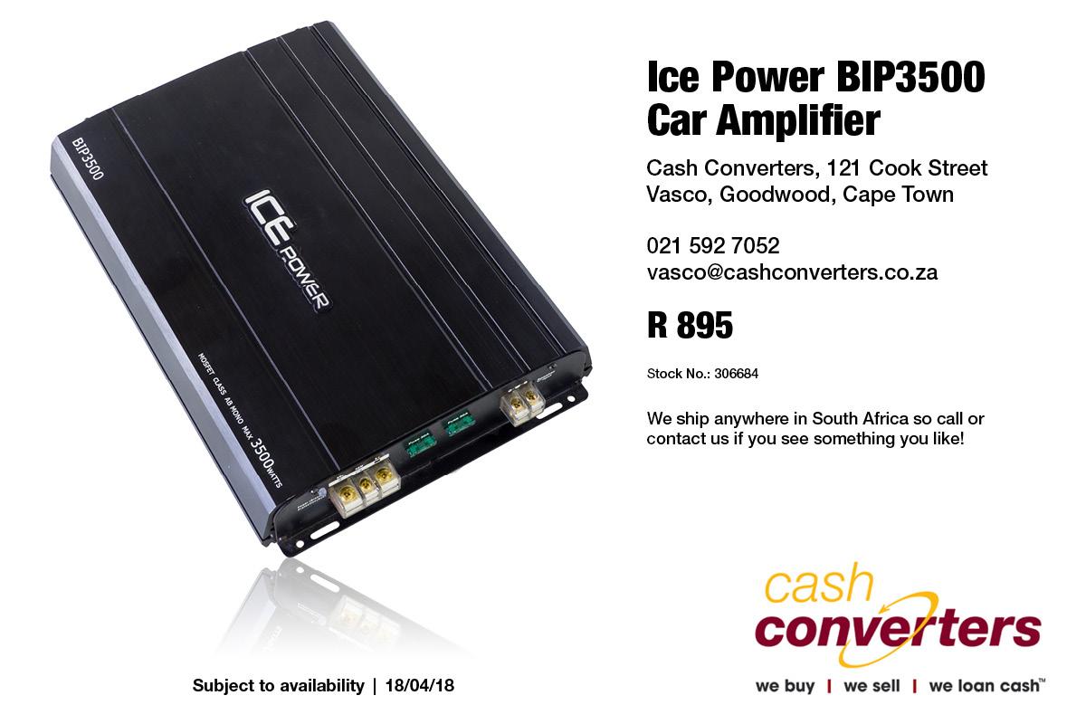 Ice Power BIP3500 Car Amplifier | Junk Mail