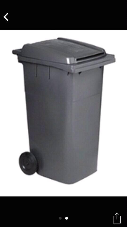 Gray dustbin for sale