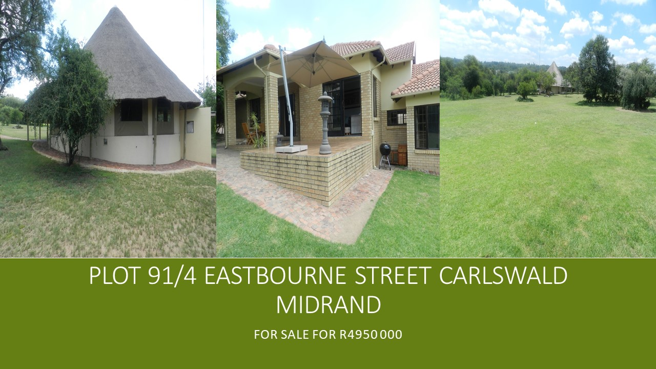 Midrand Carswald R4950 000 Calling plot owner