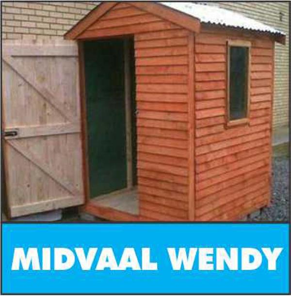 Midvaal Wendy - Pallet Wood / Louvre wood