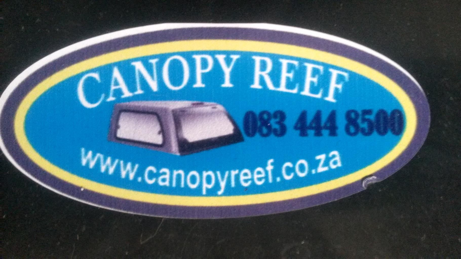 Canopy Reef:  New and used canopies for all makes and models of bakkies.
