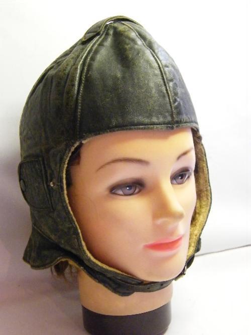Leather Pilot Flying Helmet **RARE**