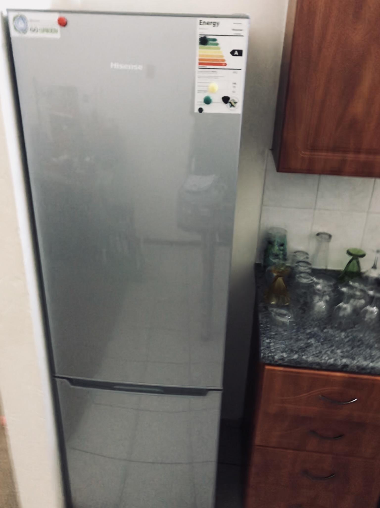 Hi sense fridge combi