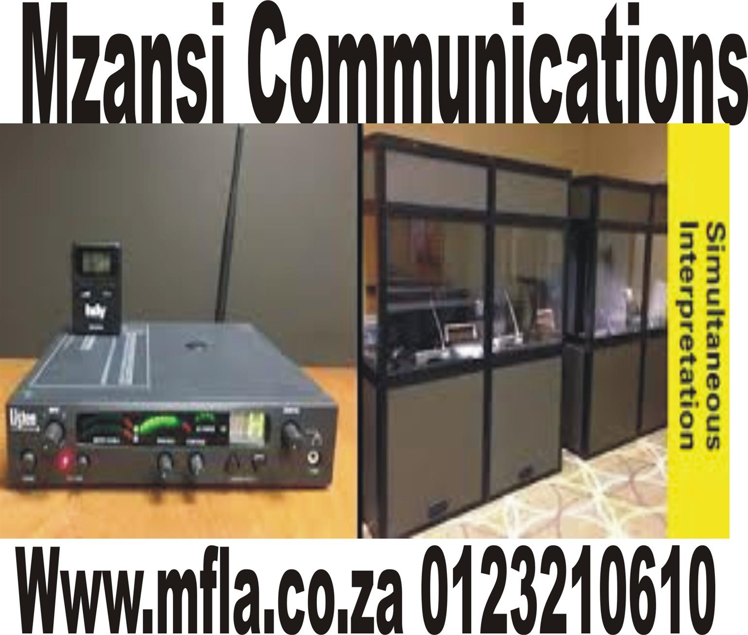 Simultaneous  Interpreting equipment services IN SA
