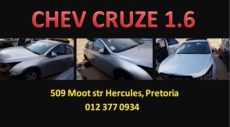 CHEV CRUZE 1.6 STRIPPING FOR SPARES
