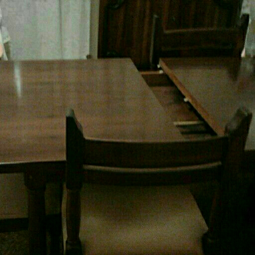 Solid wooden dining set