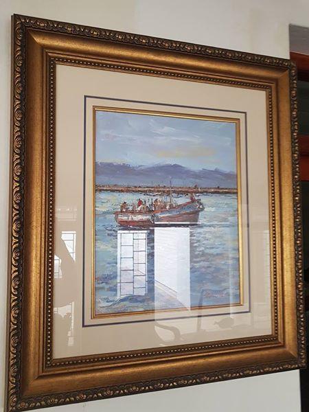 Boat painting tel