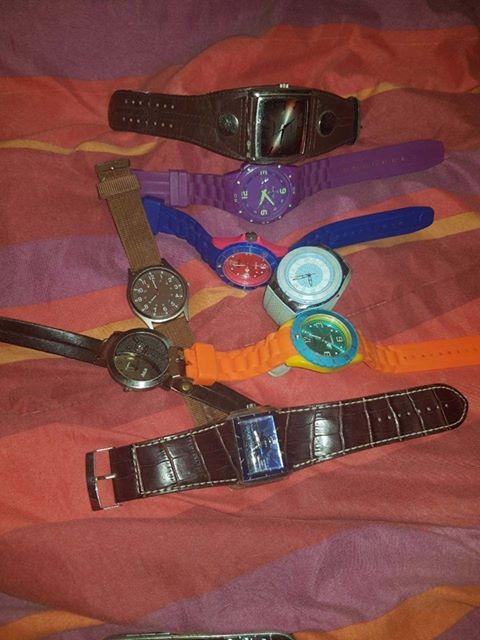 Horlosies, tamato,police,xonix, almal kort batterye