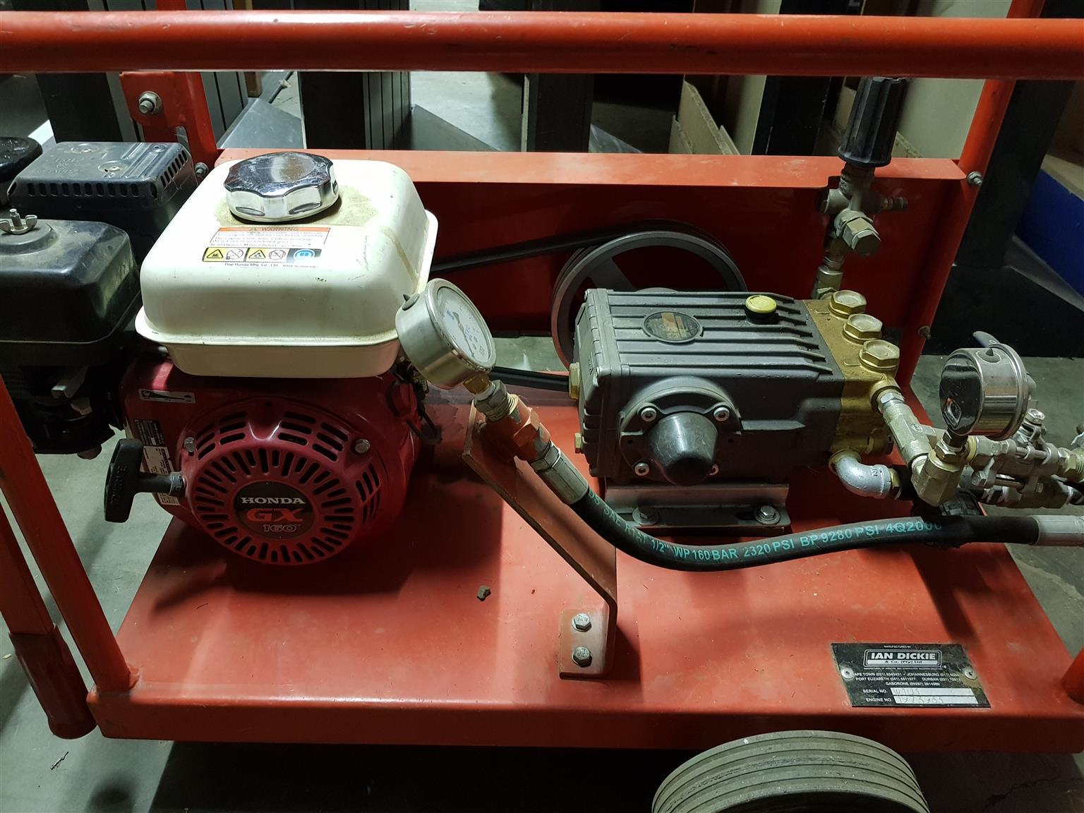 High pressure line tester