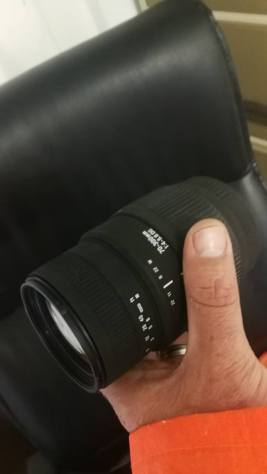 Sigma 70 - 300mm. lens for sale