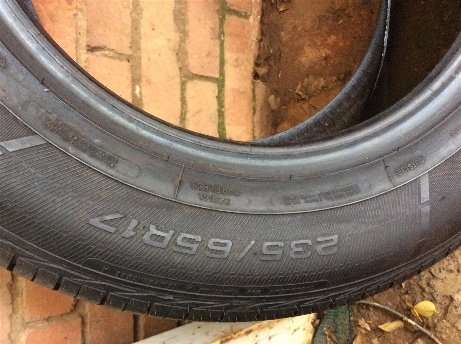 New Goodyear tyre for sale