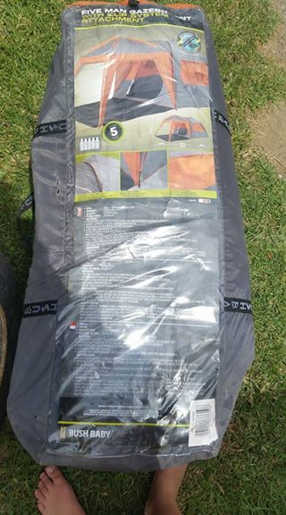 new product c4777 08cea 5 man bush baby tent   Junk Mail