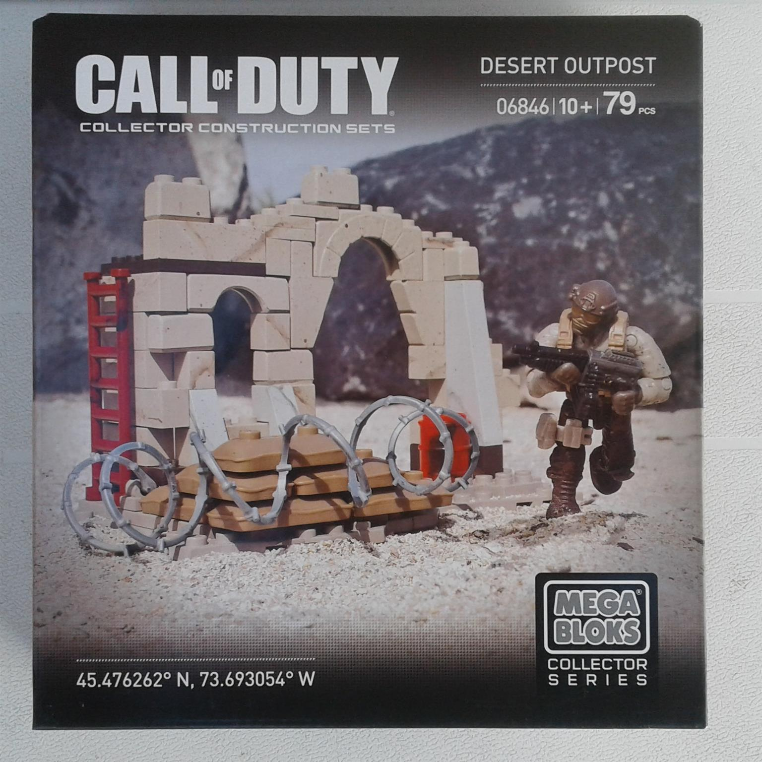 Halo and Call of Duty MB Sets