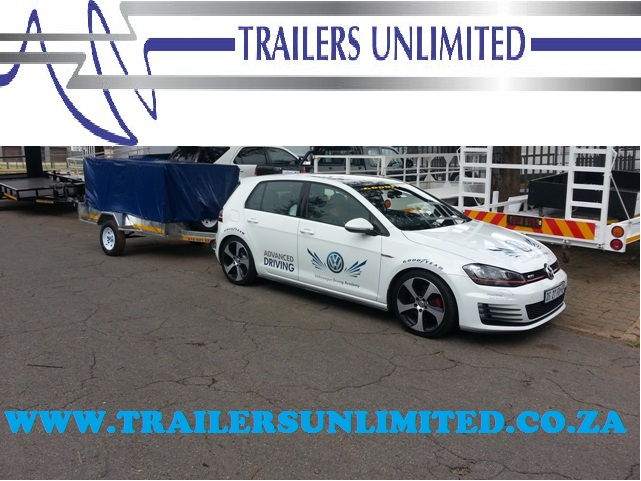 TRAILERS UNLIMITED UTILITY TRAILER. 2500 X 1500 X 900.