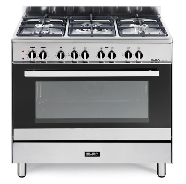 ELBA SILVER CLASSIC 5 GAS ELECTRIC OVEN MODEL - 01/9CX827N