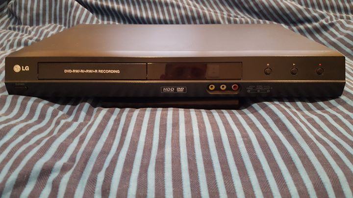 LG DVD HDD Recorder with remote for sale
