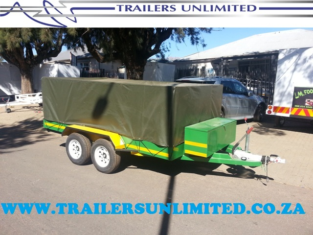 TRAILERS UNLIMITED. UTILITY TO PERFECTION 4500 X 1800 X 1200