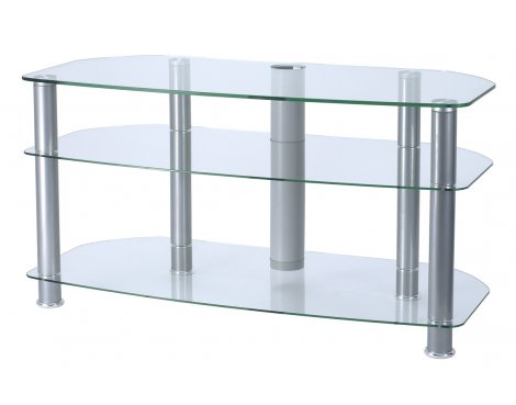 Glass TV plasna stand unit