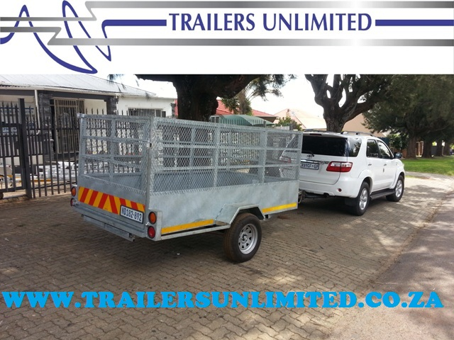 TRAILERS UNLIMITED HOT DIPPED GALVANIZED UTILITY TRAILERS.