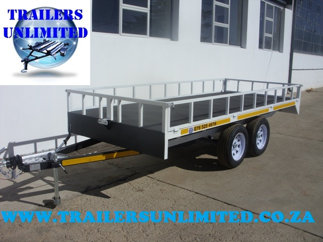 Flat Bed Trailer 4800 x 1770