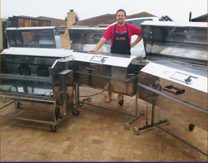 Full Catering Chef Service including Spitbraai for all you Spit / Rotisserie function event needs
