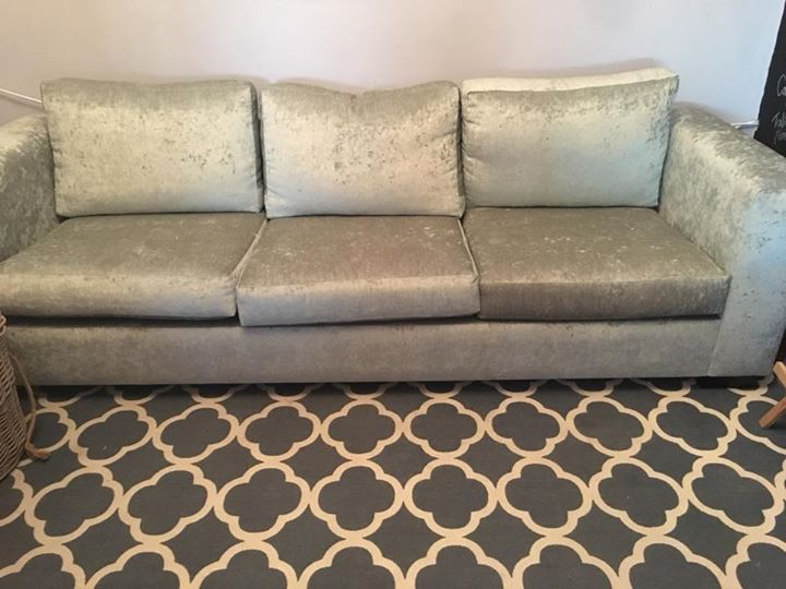 3 Seater Velvet Couch Junk Mail