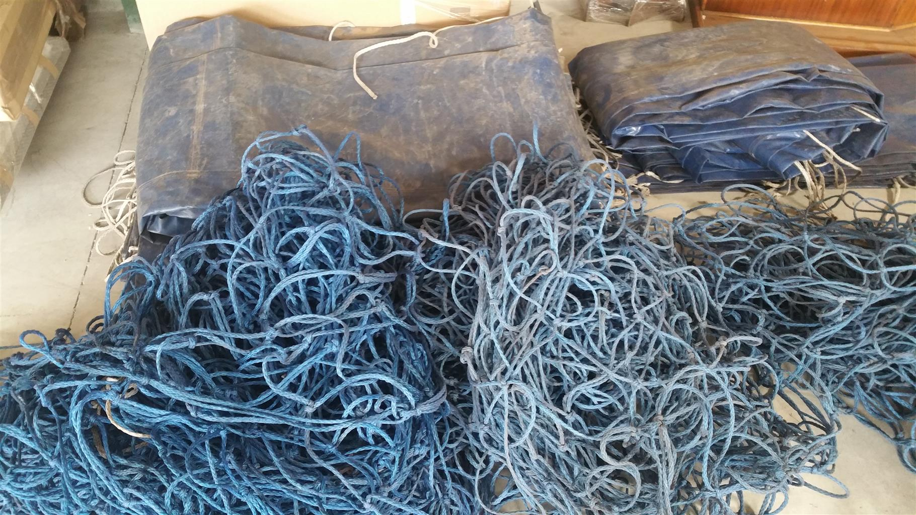 Truck tarpaulins and nets for sale