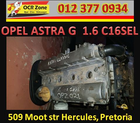 OPEL ASTRA G 1.6 C16SEL ENGINE