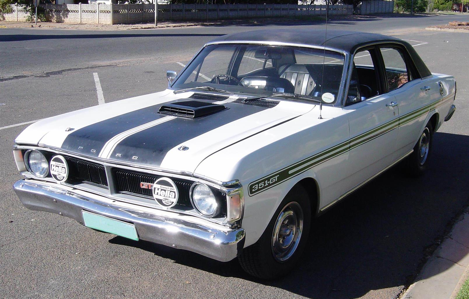 Fairmont GT WANTED, 1970 to 1973